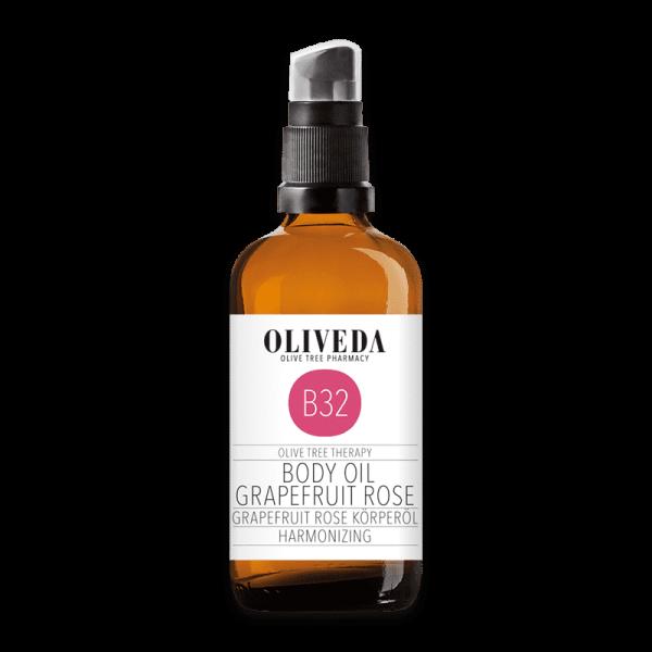B32 Körperöl Grapefruit Rose Harmonizing