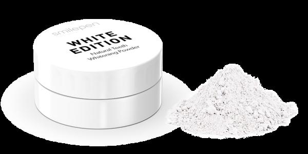 White Edition Natural Teeth Whitening Powder