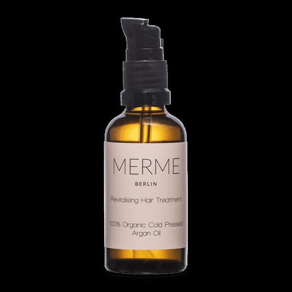 REVITALISING HAIR TREATMENT - 100% Organic Argan Oil