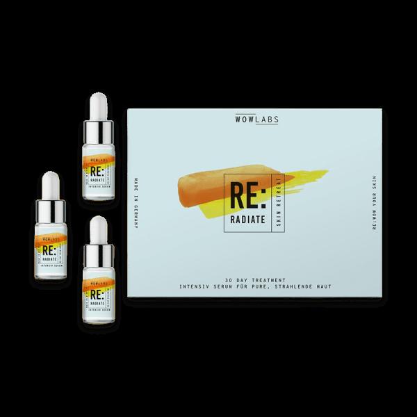 Skin Retreat RE:RADIATE 3 x 8ml