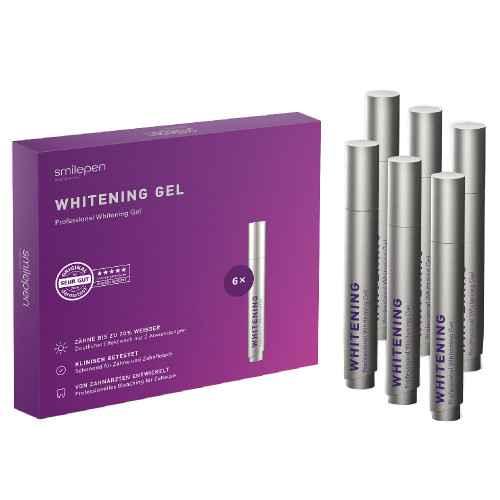 Whitening Gel 6 x 5ml