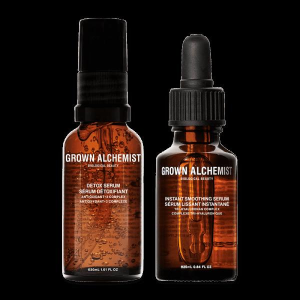 Power Couple Kit Instant Smoothing Serum + Detox Serum