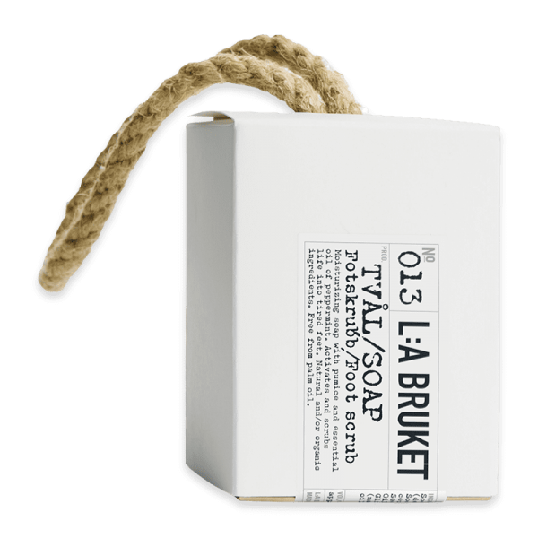 No. 013 Rope Soap Foot Scrub Peppermint