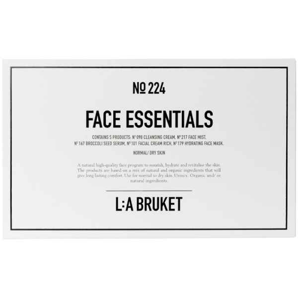 No. 224 Face Essentials Kit Normal/Dry Skin 5x10ml