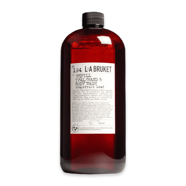 No. 194 Hand & Bodywash Grapefruit Leaf Refill